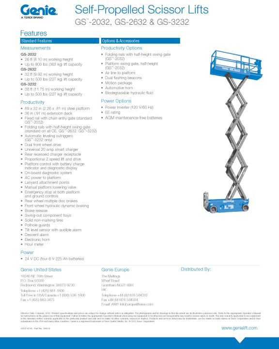 Rent Electric, 26' Scissor Lifts in CT | Superior Rental